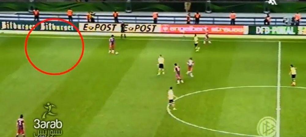 Aparitie INCREDIBILA pe teren la Bayern - Borussia! O fantoma le-a speriat pe vedetele de ZECI de milioane de euro