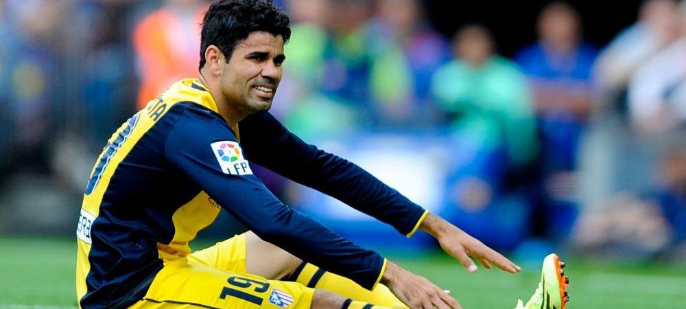 Diego Costa rateaza finala Champions League! Anuntul facut de medicii lui Atletico