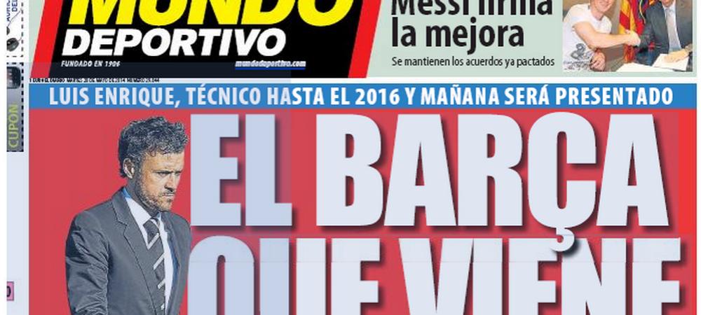 Primele transferuri in era Luis Enrique: noul antrenor nu tine cont de sfaturile lui Messi! Cine vine si cine pleaca de la Barca: