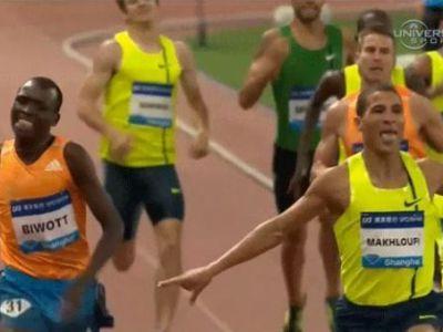 Nebunie! A alergat 800 de metri, apoi s-a intamplat asta! Ce a patit inainte de finish! VIDEO