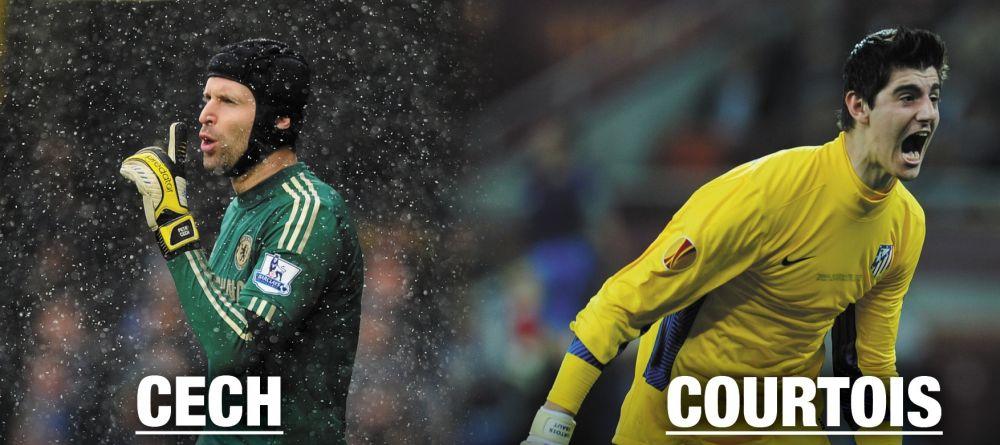 Courtois vs Cech, cea mai mare rivalitate pe post de sezonul viitor! Ce spune omul imprumutat la Atletico de revenirea la Chelsea