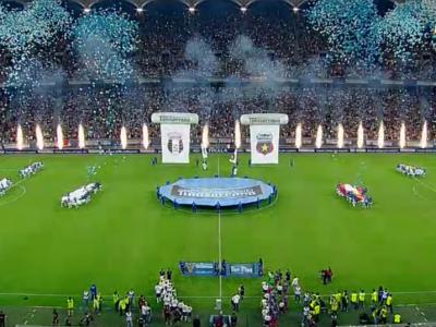 Au dat drumul la 16.000 de baloane pe National Arena dar nu se asteptau la urmarea asta! Ce s-a intamplat cu ele :) FOTO