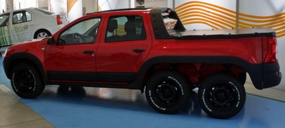 Masina SECRETA produsa la Dacia! E prima 6X6 facuta de romani! Cum arata inventia care i-a dat pe spate pe straini! FOTO