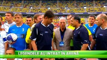 Spectacol in meciul dintre legendele fotbalului romanesc si suporteri! Duckadam a aparat cateva minute, Danciugol a dat o dubla