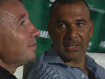 """VIDEO Dan Petrescu s-a revazut cu Gullit la Bucuresti! Olandezul i-a facut reclama lui Super Dan: """"E super profesionist!"""""""