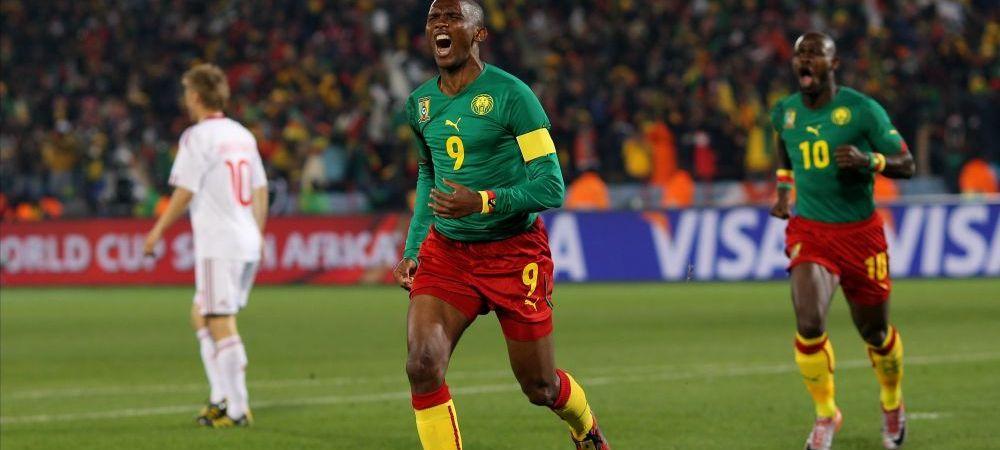 Bataie pe bani inainte de mondial: Eto'o face scandal si ameninta federatia! Ce bonusuri au cerut jucatorii Camerunului: