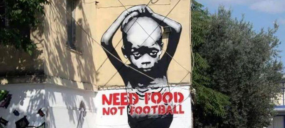 """""""Fotbalul nu tine de foame!"""" Protest emotionant al brazilienilor inainte de Mondial! Cum au ales sa protesteze impotriva FIFA"""
