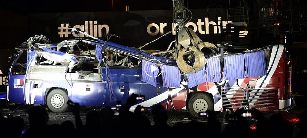 Sa fie bine, sa nu mai fie rau! Franta si-a distrus autocarul de la mondialul din 2010 din superstitie! VIDEO