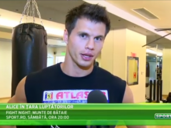 """Mesajul lui """"The Machine"""" Stanciu pentru Marius Tita, inainte de gala de sambata, la 20:00 pe Sport.ro: """"Hasta la vista, baby!"""""""