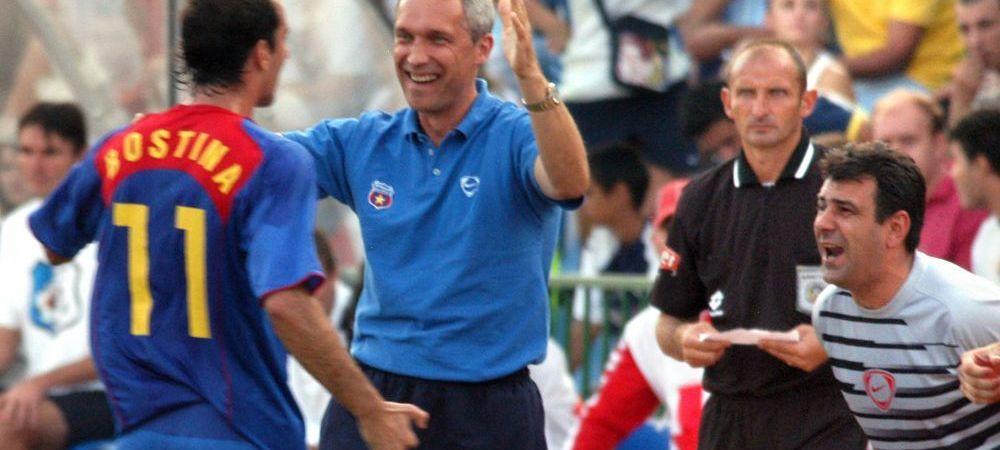 """Propunere surpriza pentru Steaua: """"Cu el pe banca am jucat ca echipa din '86!"""" Ce antrenor strain ii este recomandat lui Becali"""