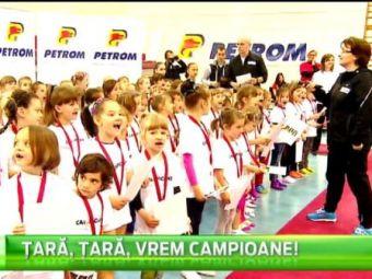 "Bellu si Bitang au premiat la Deva viitoarele staruri ale gimnasticii! Caravana ""Tara, Tara, Vrem Campioane"" se muta la Bucuresti"