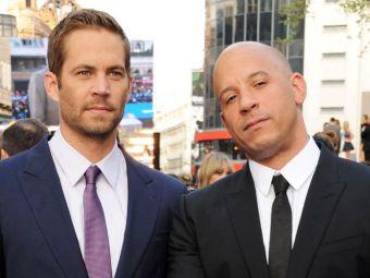 Vin Diesel, afectat in continuare de moartea lui Paul Walker. Mesajul emotionant postat pe Facebook