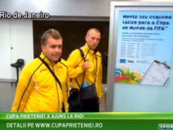 """Nationala Romaniei """"a ajuns"""" la Rio! Panica pentru jucatori dupa drumul cu avionul. Ce s-a intamplat cand au ajuns in Brazilia"""