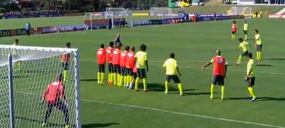 Neymar, in forma maxima inainte de Mondial! Executie superba la antrenament, portarul n-a avut nicio replica! VIDEO