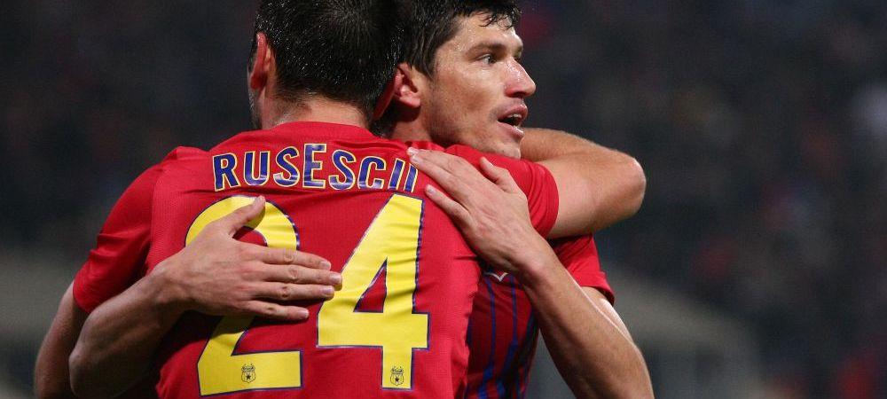 Rusescu si Tanase pot fi colegi din aceasta vara! Stelistul este dorit de 2 echipe URIASE cu fani DEMENTI
