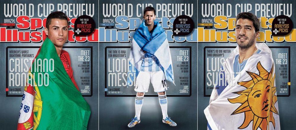 Imaginile pe care milioane de fani si le vor lipi pe peretii camerelor lor! Cum au aparut Messi, Ronaldo si Suarez inainte de CM