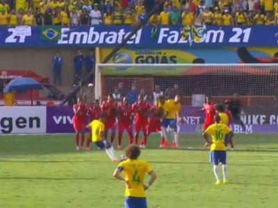 Ce reuseste Neymar este MAGIE! A dat golul 200 din cariera si apoi a dat o pasa FABULOASA! Brazilia, in forma maxima VIDEO