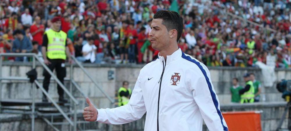 Cristiano Ronaldo are tendinita si are sanse mici sa joace cu Germania la Mondial! Comunicatul oficial al federatiei portugheze