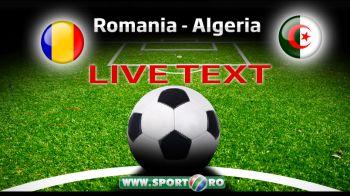 ROMANIA 1-2 ALGERIA. Algerieni din toata lumea, bucurati-va! V-am bagat in forma sa-i bateti pe Rusia la Mondial! Scene incredibile la final, fanii au invadat terenul