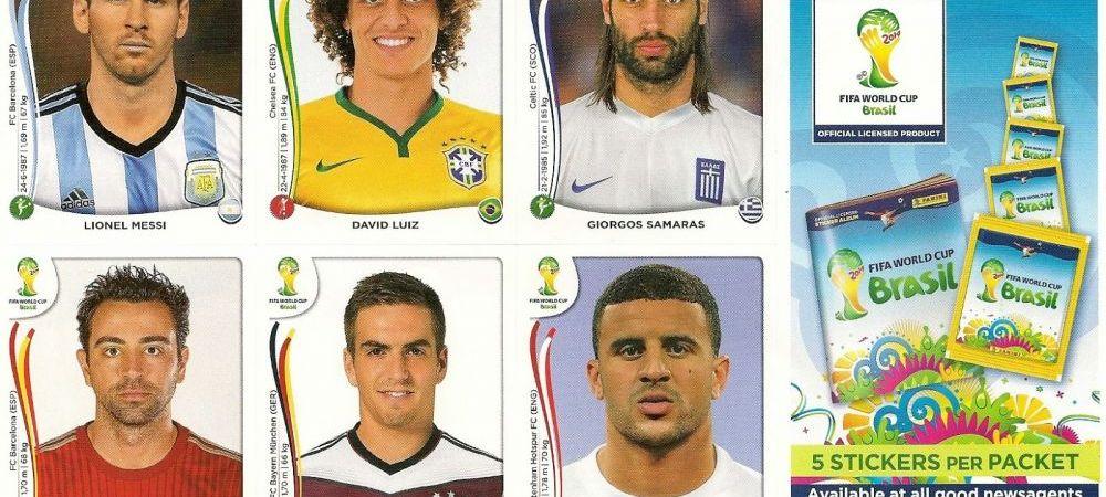Colectionati stickere Panini pentru Cupa Mondiala? Uite de cate plicuri ai nevoie pentru a completa albumul