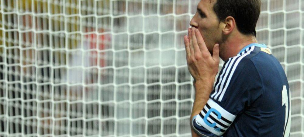 Ratare MessINCREDIBILA in Argentina - Trinidad Tobago! Starul Barcelonei n-a reusit sa dea gol din 2 metri, cu poarta GOALA! VIDEO