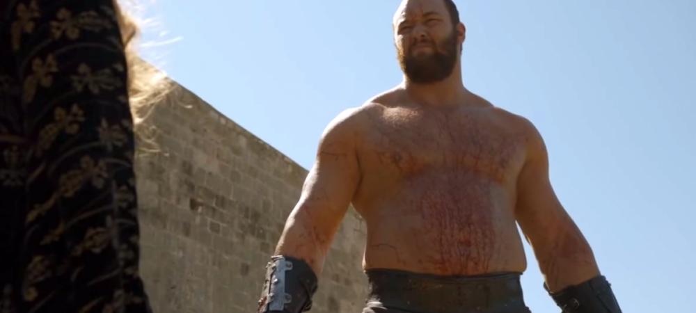 """Il stii din Game of Thrones, dar l-ai vazut vreodata in concursuri? Cum reuseste islandezul """"The Mountain"""" sa ridice 450 de kg"""