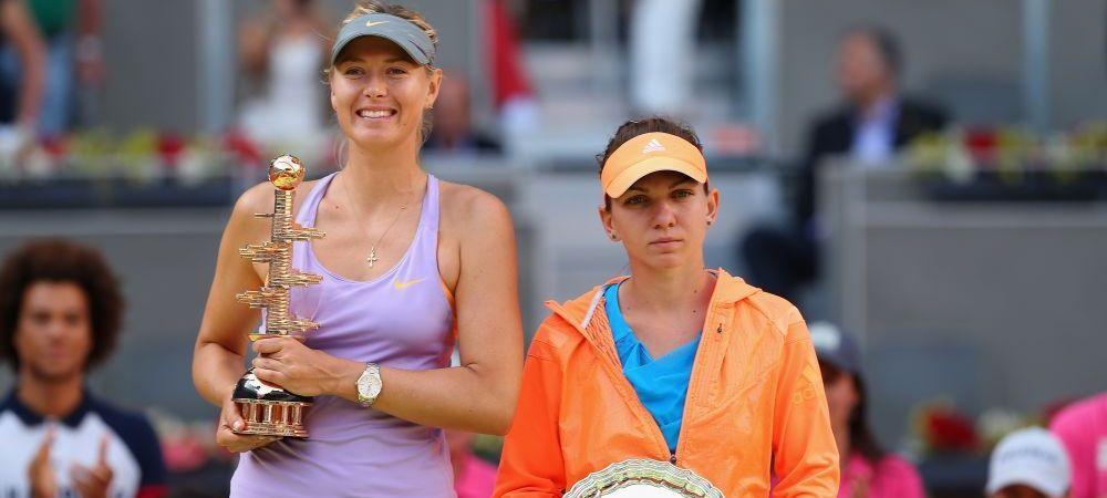 """""""Simona e la un alt nivel!"""" Declaratia incredibila a Sharapovei despre Halep! SPERANTE pentru finala de la Roland Garros"""