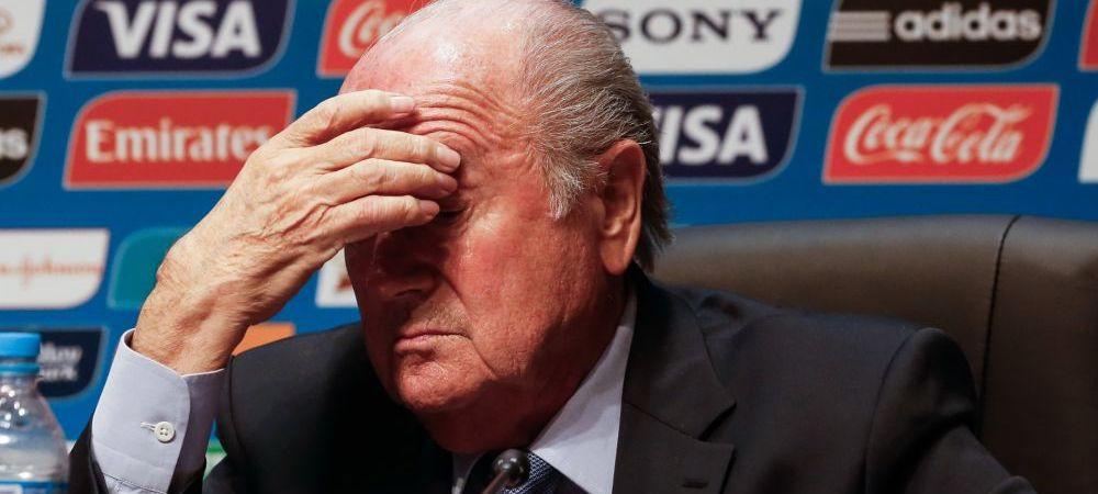 AMR 3 zile: FIFA ii poate interzice Mondialul Qatarului! Reactia lui Blatter cand a fost intrebat de noi alegeri pentru 2022