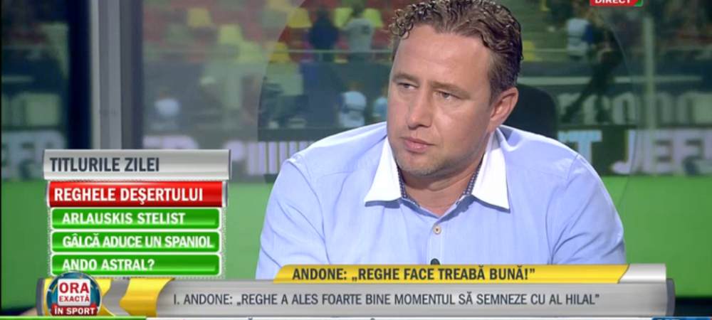 Reghe a vrut sa mai stea la Steaua 2 ani, Becali a refuzat sa-i mareasca salariul! Discutia care l-a convins sa plece la arabi