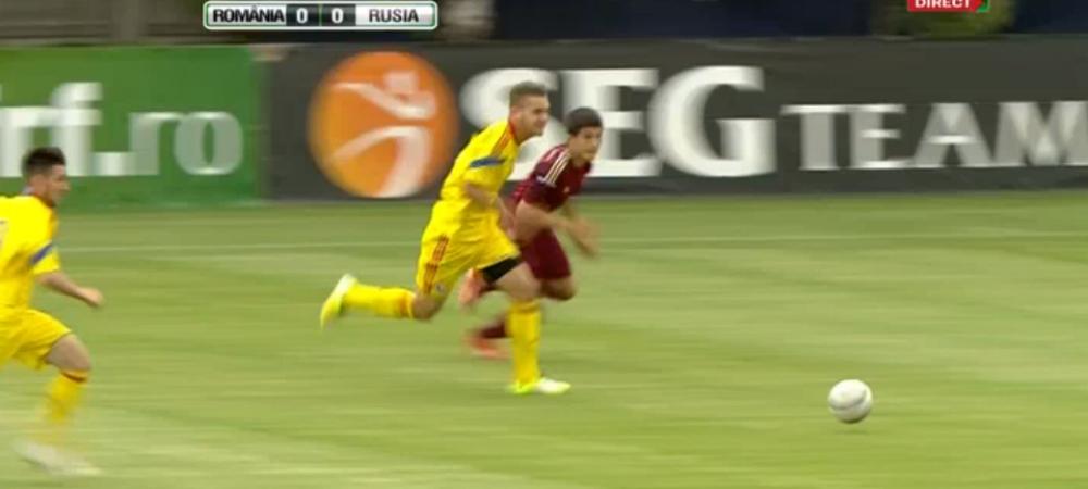 ACUM la Sport.ro:Romania - Rusia se joaca si la fotbal! Pustii U17 cauta revansa dupa umilinta cu Austria!