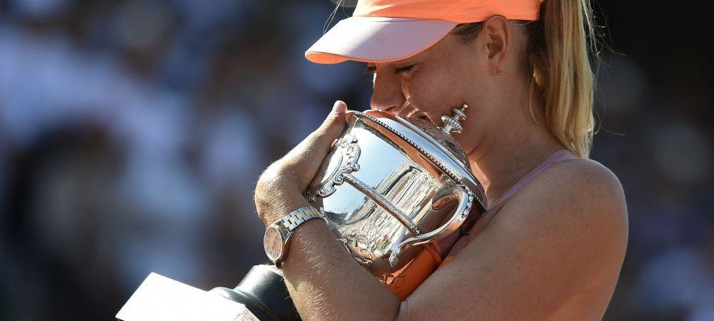 """A fost cea mai DURA finala din viata mea!"" Sharapova, impresionata de romani si Halep! Discursul campioanei"