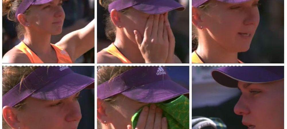 LACRIMI de campioana! Simona Halep a inceput sa planga dupa infrangerea din finala! Discursul emotionant: