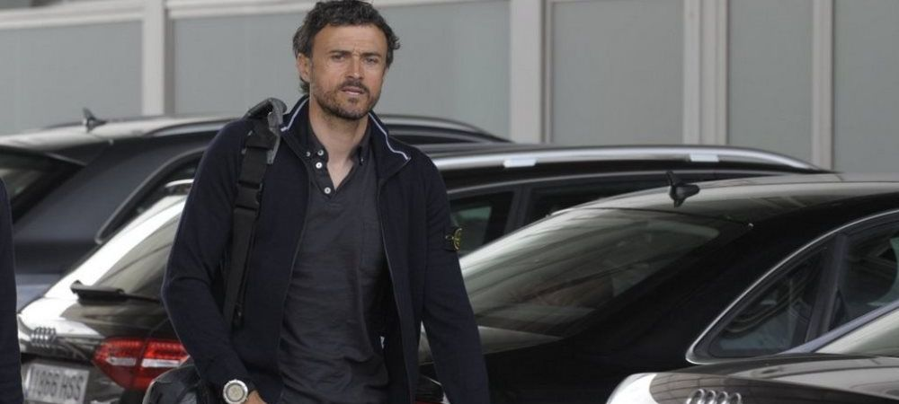 BREAKING NEWS! Luis Enrique a fost internat de urgenta in spital!