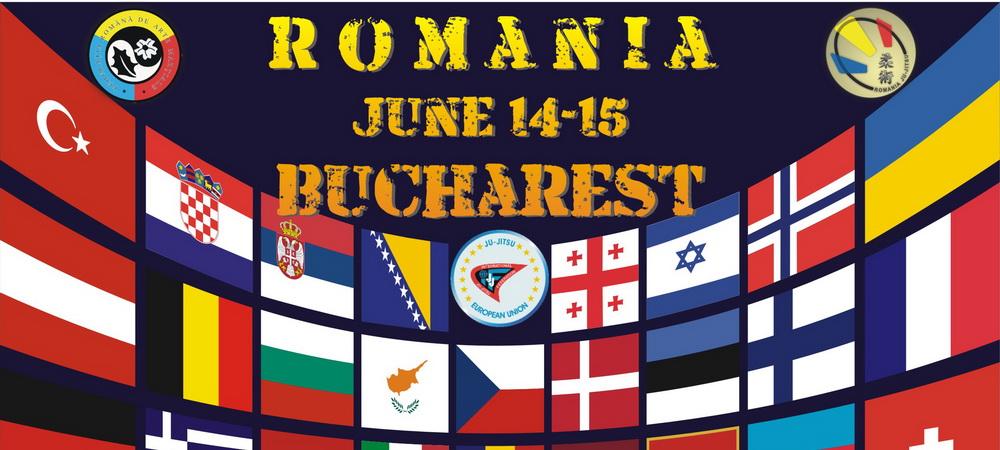 """Romania baga """"artileria grea"""" la europenele de Ju-Jitsu! Competitia are loc pe 14-15 iunie la Sala Polivalenta din Bucuresti"""