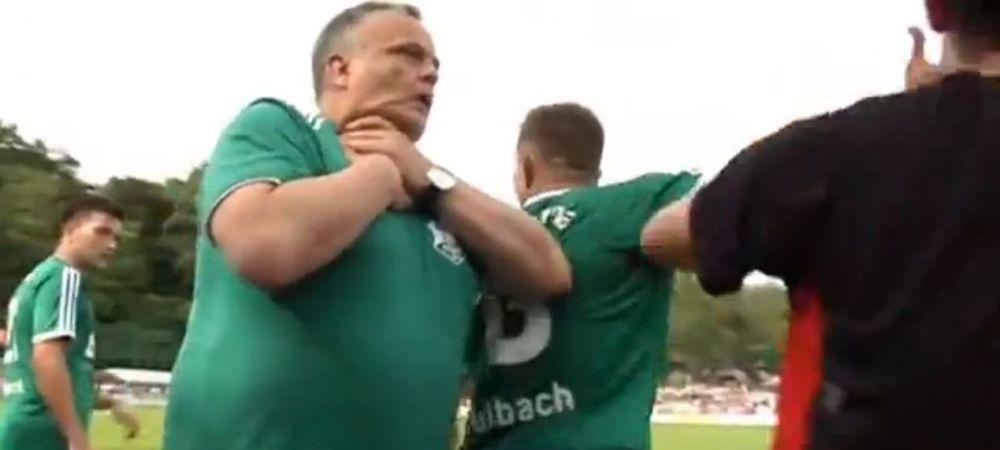 Faza ZILEI in fotbal! Rivalul i-a pus mana in gat, ce a urmat e de cascadorii RASULUI! :)) VIDEO