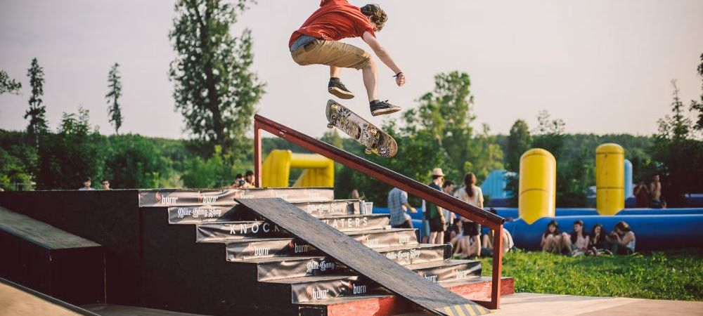 (P) Se depaseste orice limita! Sporturile extreme arunca in aer Castelul Banffy!