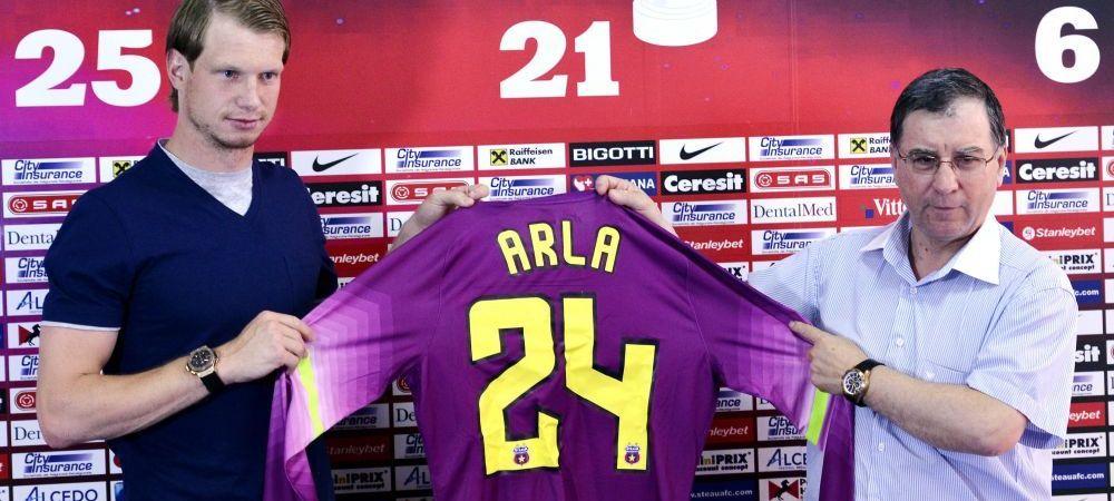 "I-au ""TAIAT"" 78% din salariu! Arlauskis a renuntat la 3 sferturi din salariu pentru a juca in Liga! Cati bani ii da Steaua"