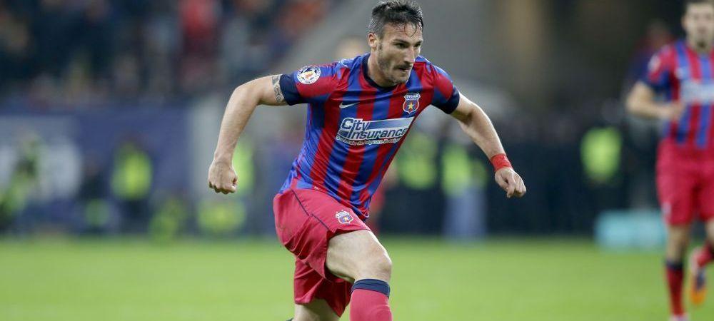 Piovaccari si-a luat ADIO de la Steaua! Oferta lui Becali a fost prea mica pentru italian! Cati bani i-a pus pe masa:
