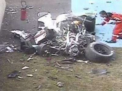 FOTO Accident GROAZNIC la Le Mans! Masina s-a dezintegrat, pilotul a supravietuit. Care e starea lui: