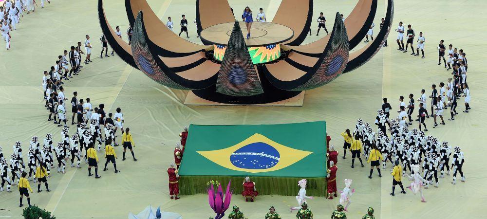 Mai multi oameni la proteste decat la deschiderea Cupei Mondiale! FOTO cele mai tari imagini inainte de Brazilia - Croatia: