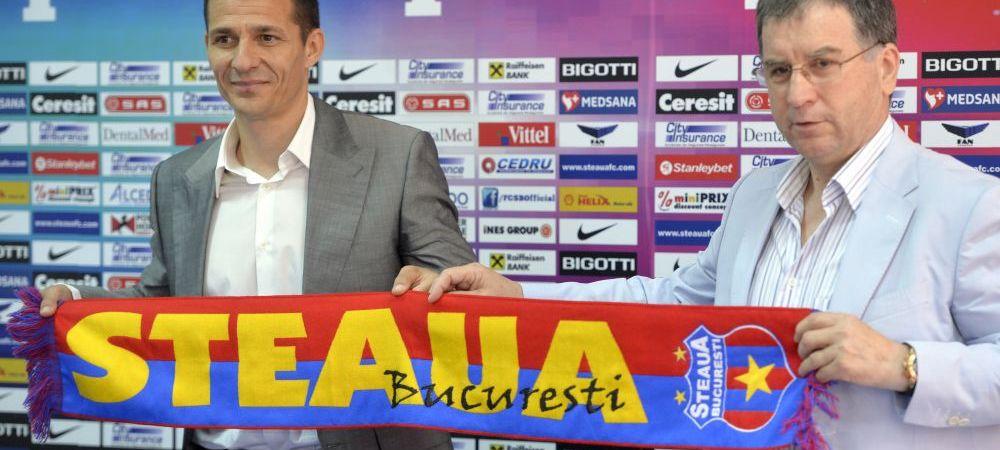 10 decizii majore si un RECORD atins de Galca in primele 10 zile la Steaua! Cum incepe noua era dupa Reghecampf