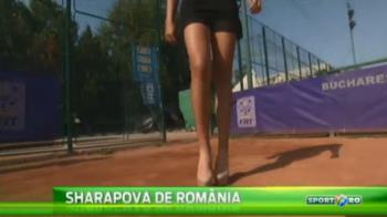 Asa arata ...Sharapova de Romania! Jucatoarea care poate sa joace tenis pe TOCURI! :) VIDEO