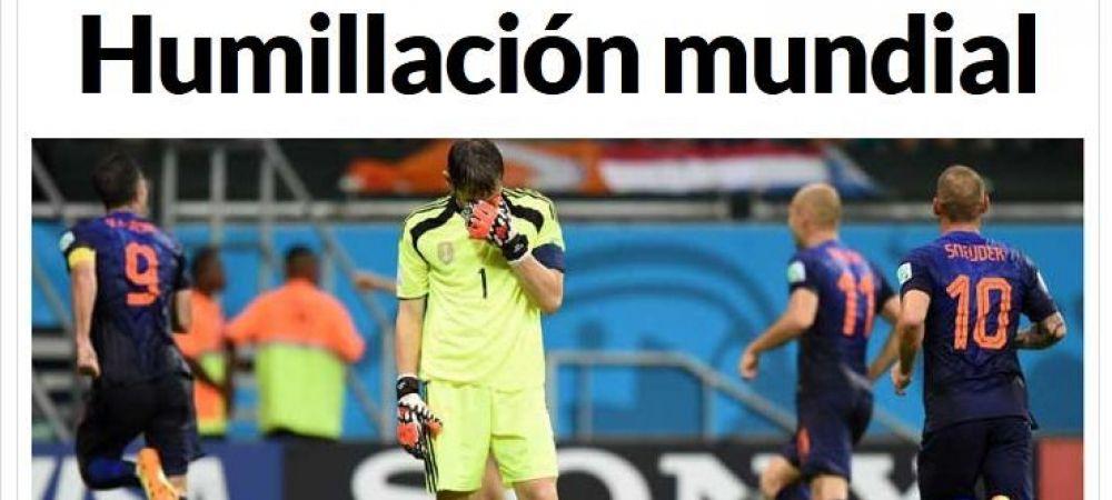 """Prima pagina din Marca: """"Rezolvati ASTA!"""" Campioana Mondiala poate fi ELIMINATA dupa urmatorul meci! Iniesta si Xavi, pe urmele lui Zidane"""