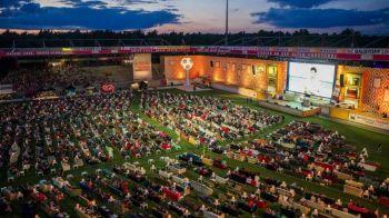Imaginea momentului in Europa! Ce au facut nemtii din acest stadion ca sa se uite la meciurile de la Mondial. SUPER FOTO