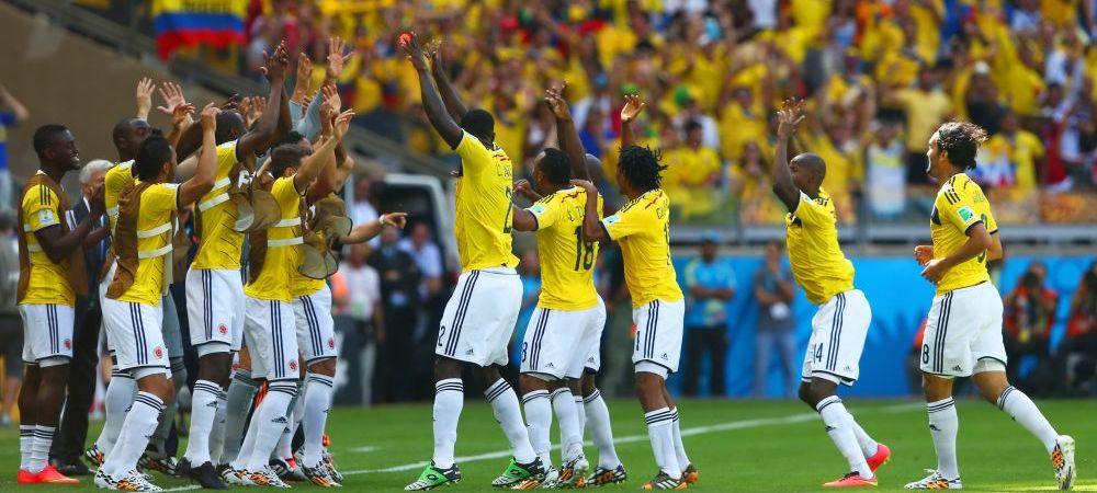 """NEBUNIEEE! Faza de senzatie la golul Columbiei! S-a strigat """"GOL"""" timp de 16 secunde! Jucatorii s-au bucurat ca la FIFA 14!"""