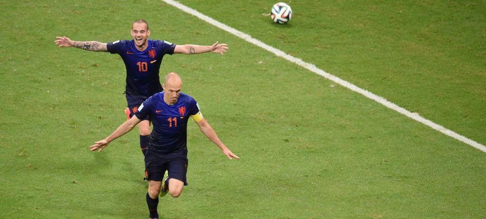 Surpriza de care jucatorii Olandei au avut parte dupa victoria uriasa cu Spania! Telefonul neasteptat venit de la un campion ROMAN