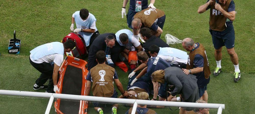 PANICA dupa golul lui Sturridge cu Italia! Toti medicii s-au strans in jurul lui, nimeni nu intelegea ce s-a intamplat! Vezi FAZA