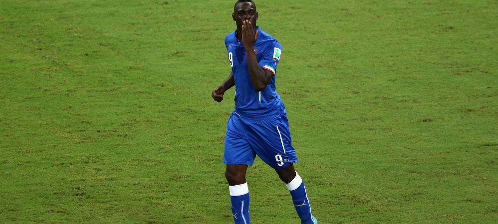 """Ciocu' mic!"" AROGANTA lui Balotelli la cateva secunde dupa ce s-a terminat Anglia - Italia. Ce a facut Super-Mario"
