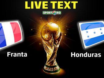 FRANTA 3-0 HONDURAS. Dubla Benzema si primul gol din istoria fotbalului validat de camerele video! Vezi fazele meciului