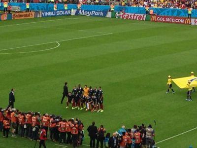 Moment unic la CM inainte de Franta - Honduras! Tot stadionul s-a ridicat degeaba in picioare pentru imnuri! Ce s-a intamplat